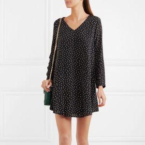 MADEWELL • silk star print dress